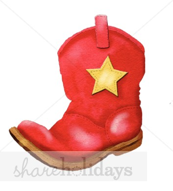 353x388 Western Red Boot Clipart Party Clipart Amp Backgrounds