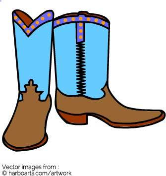 335x355 Cartoon Cowboy Boots Pictures