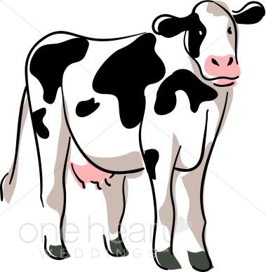 379x388 Dairy Cow Clip Art