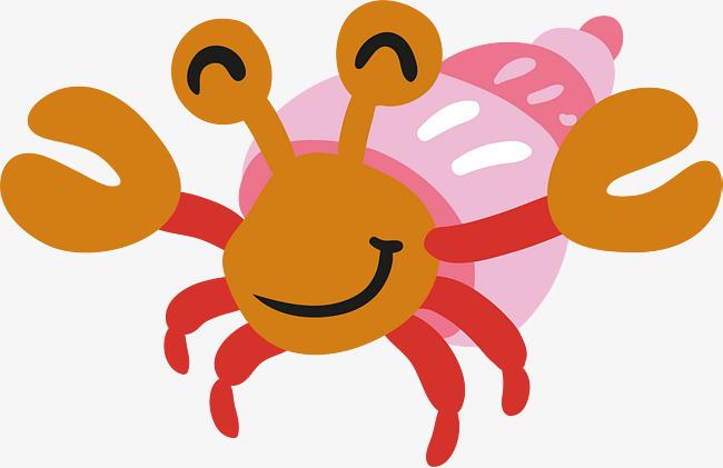 650x421 Cartoon Hermit Crab, Vector Png, Cartoon Crab, Crab Png And Vector