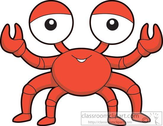 550x426 Marine Life Clipart Clipart Sea Life Red Crab Cartoon Clipart 577