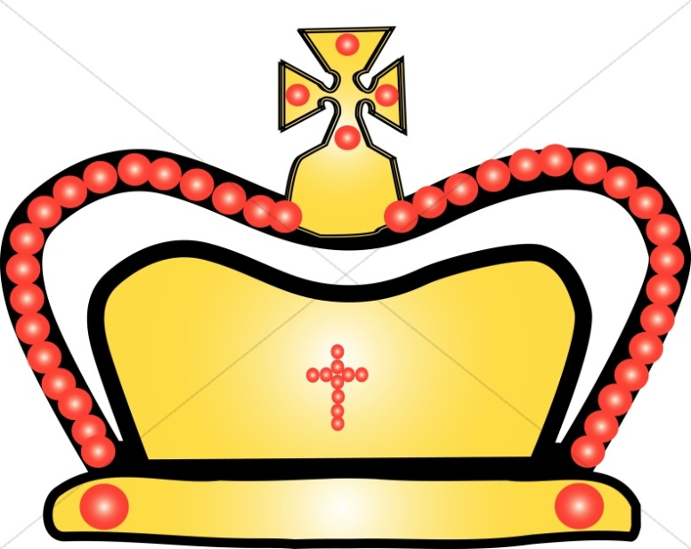 776x617 Gold And Red Crown Clip Art Crown Clipart