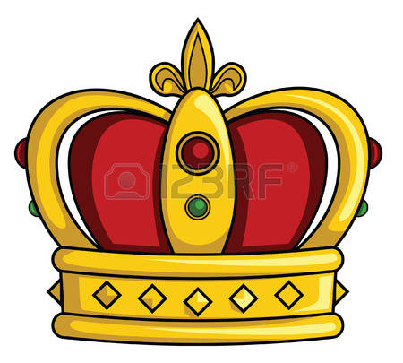 450x405 The Emperor's Crown Clipart