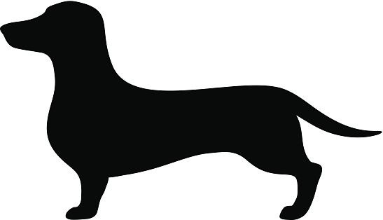 547x314 Clip Art Of Cartoon Dachshund Dog Dogs 2