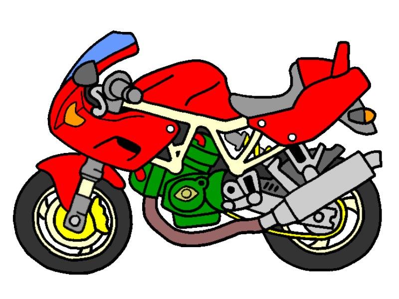 800x600 Cartoon Dirt Bike Pictures