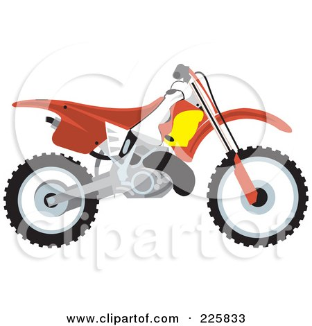 450x470 Royalty Free (Rf) Clipart Of Dirt Bikes, Illustrations, Vector
