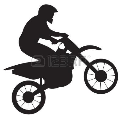 400x400 Bmx Clipart Motocross Bike