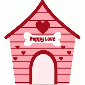 Cartoon Dog House Clipart