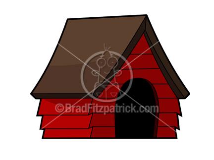 432x324 Doghouse Clip Art Royalty Free Doghouse Clipart Cartoon