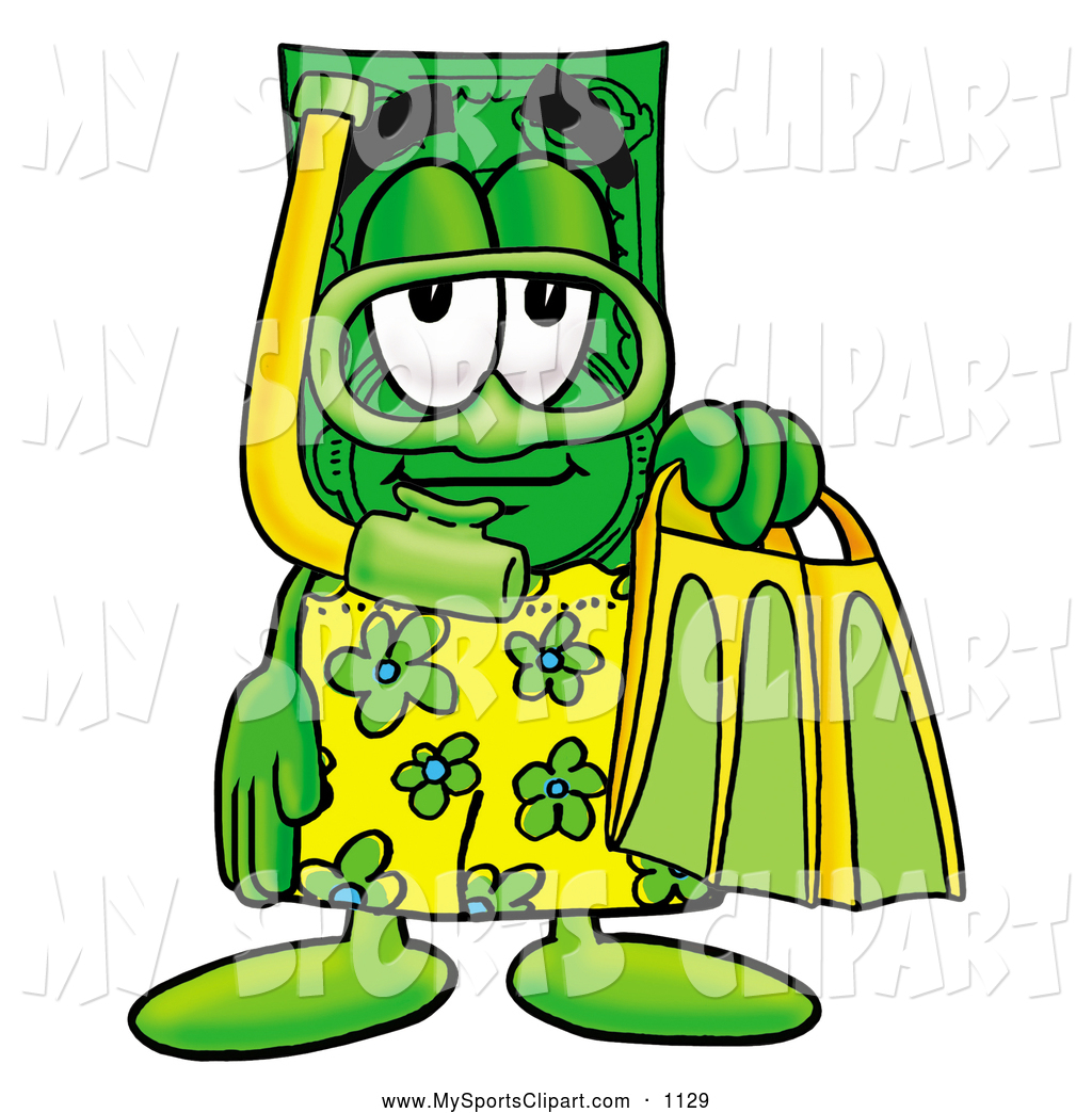 1024x1044 Sports Clip Art Of A Smiling Dollar Bill Mascot Cartoon Character