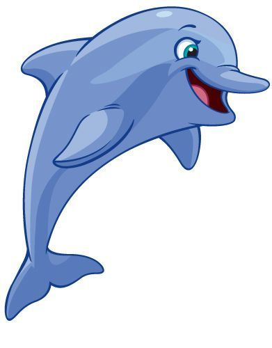 Cartoon Dolphin Images