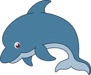 300x247 Dolphin Cartoon Flipper Sticker Decal Graphic Vinyl Label V2 Ebay