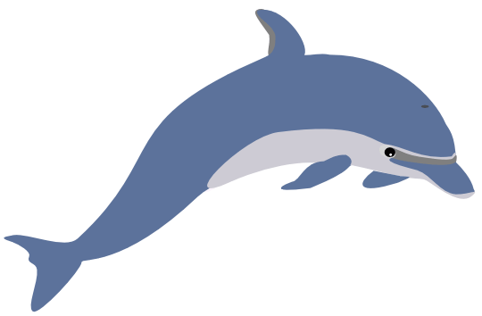 540x354 Free Dolphin And Whale Graphics