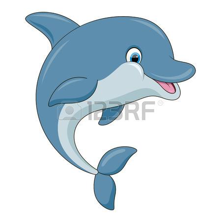 450x450 Happy Dolphin Royalty Free Cliparts, Vectors, And Stock