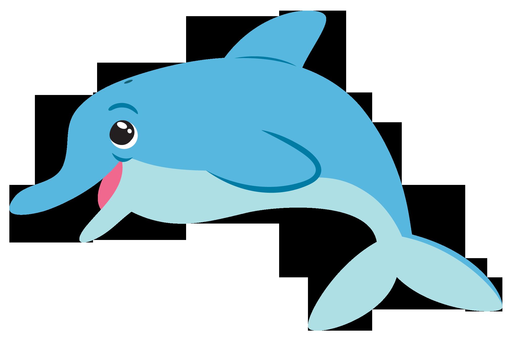 2025x1350 Cartoon Dolphin Clip Art Clipart Panda