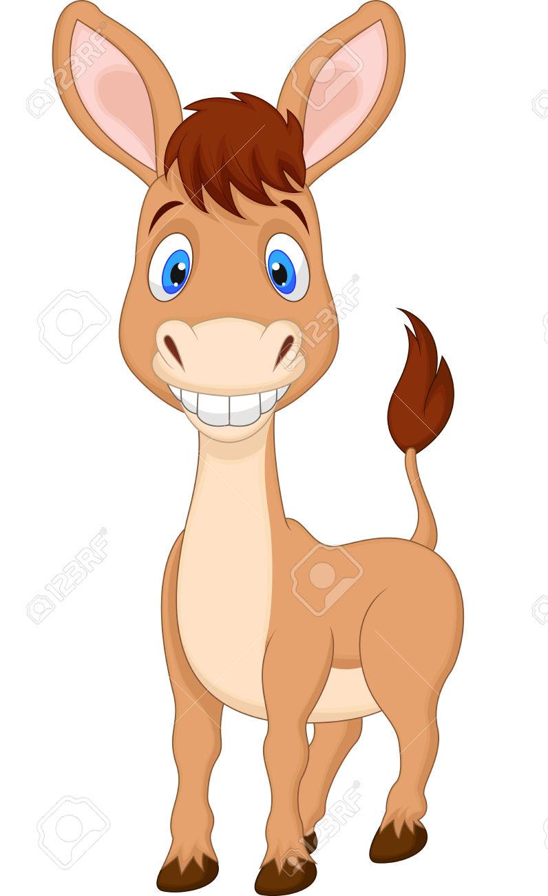 796x1300 Donkey Clipart Cute Horse