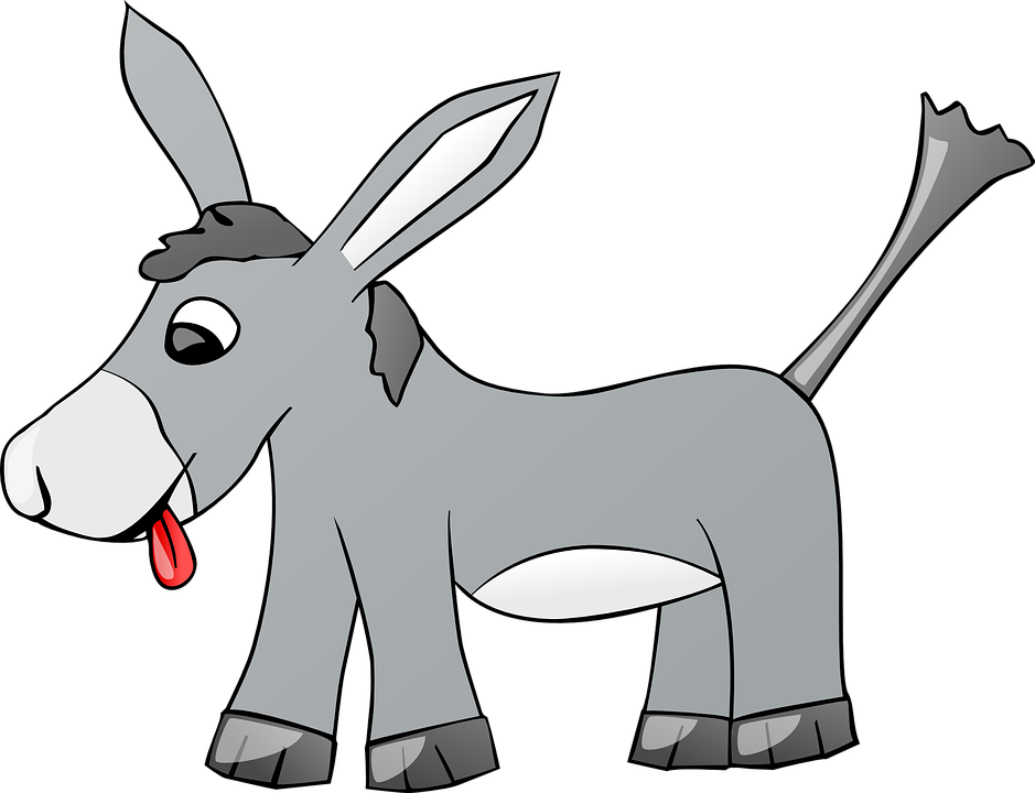 939x720 Free Photo Farm Donkey Comic Cartoon Gray Tongue Animal