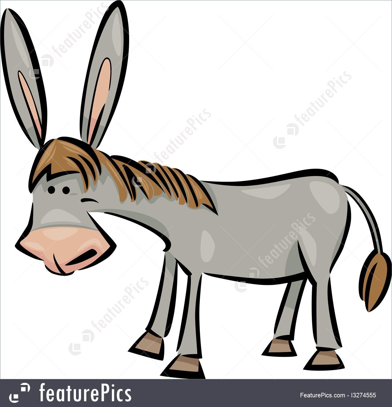 1300x1350 Animals Cartoon Donkey