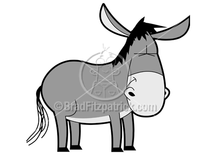 432x324 Cartoon Donkey Clipart Character Royalty Free Donkey Picture