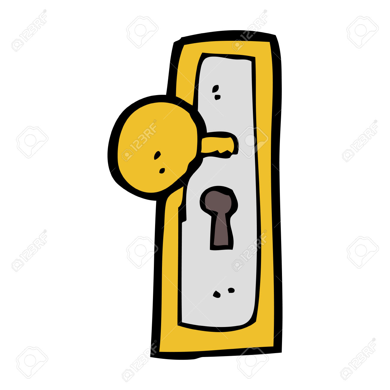 1300x1300 Door Knob Clipart