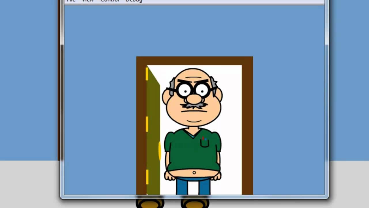 1280x720 Open Door Clipart Animated