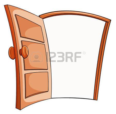 450x441 Open Door Clipart Puerta