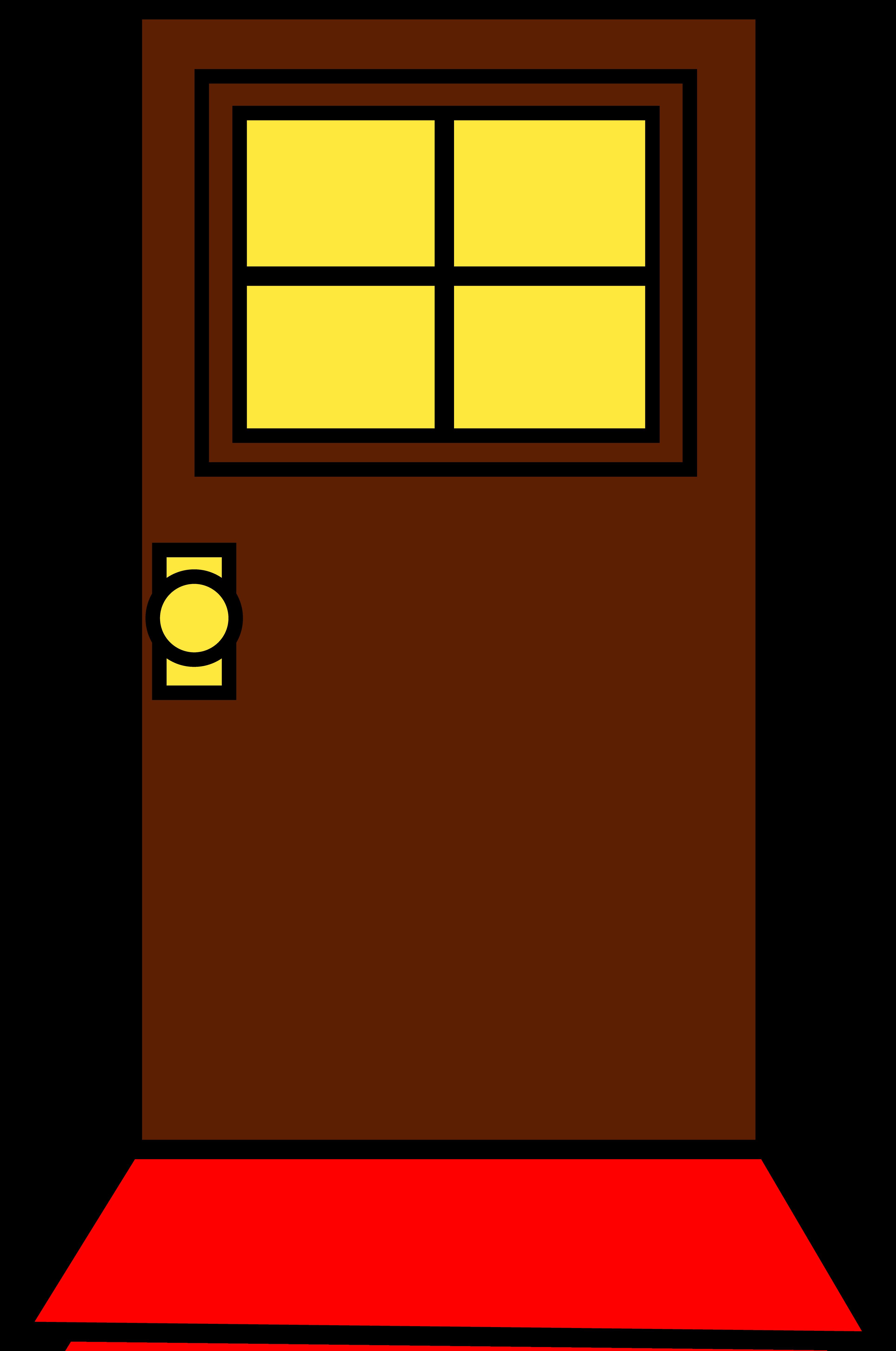 3856x5811 Simple Brown Door Design