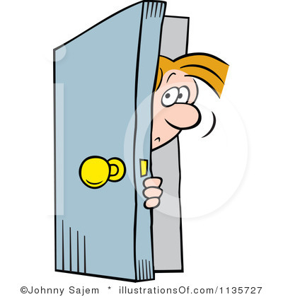 400x420 Behind Clipart Door Clip Art Royalty Free Door Clipart