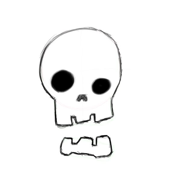 600x600 Cartoon Skulls