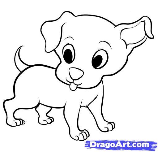 511x491 Drawn Cartoon Cute Dog