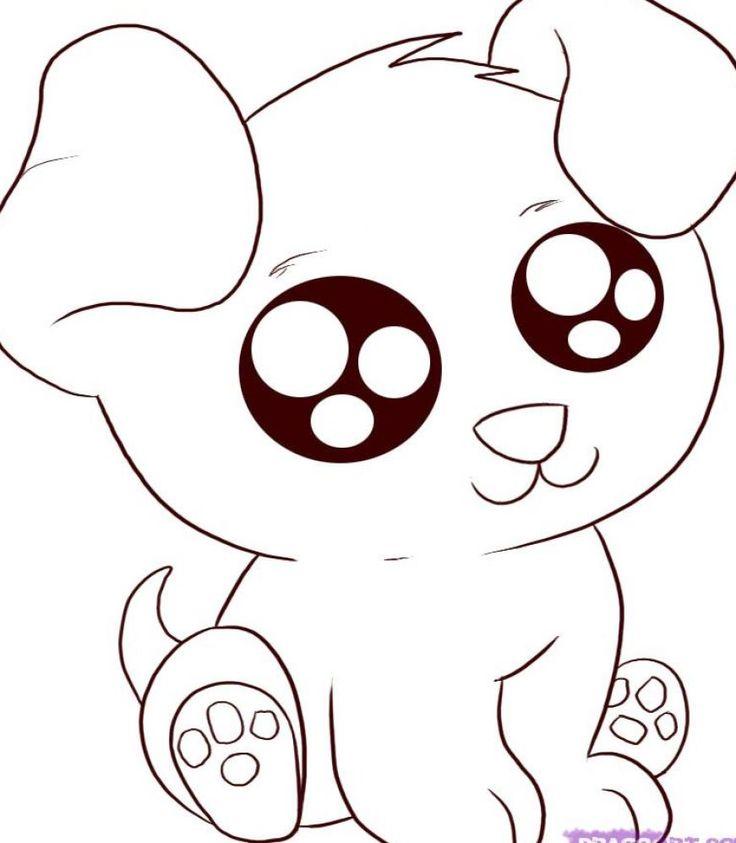 736x843 Drawn Cartoon Doggy