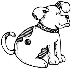 300x286 Drawn Comic Dog