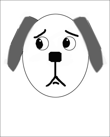 360x450 How To Draw A Dog In Simple Steps The Easy Way