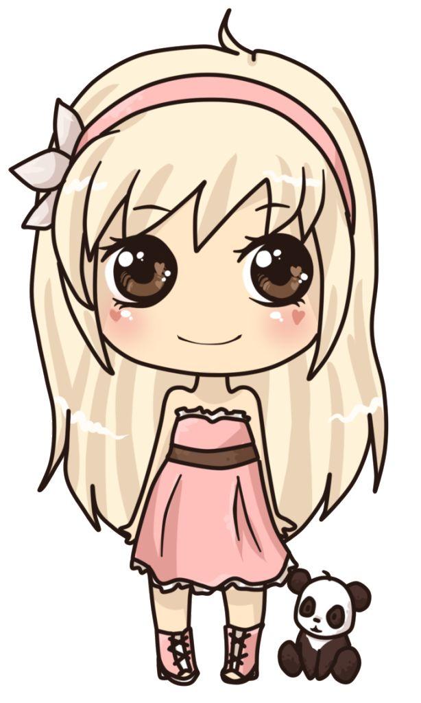 614x1024 Cute Girl Art Kawaii, Girls And Drawings