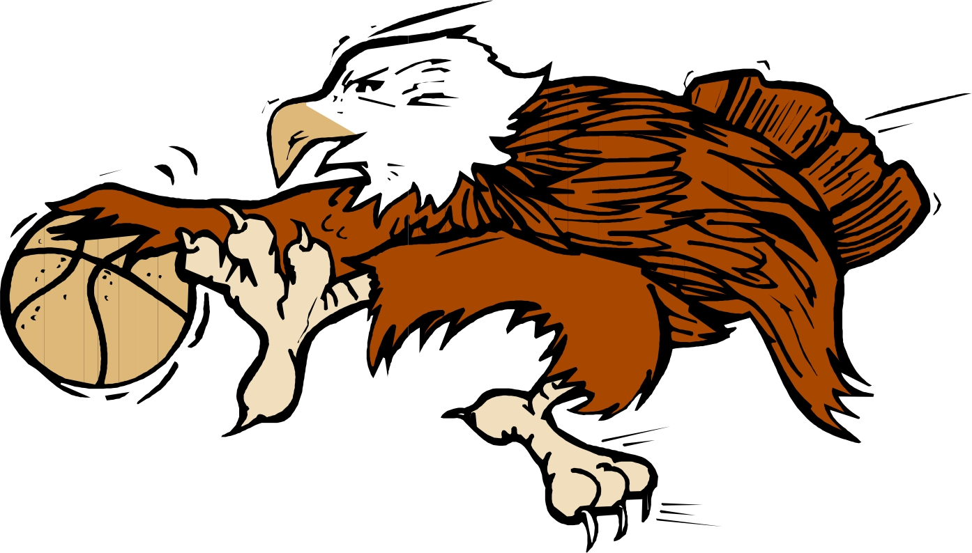 1394x794 Eagle Basketball Clipart