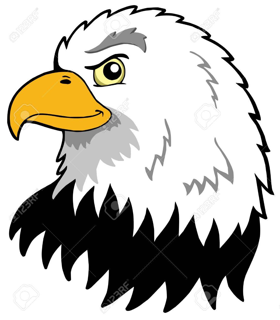 1136x1300 American Eagles Head