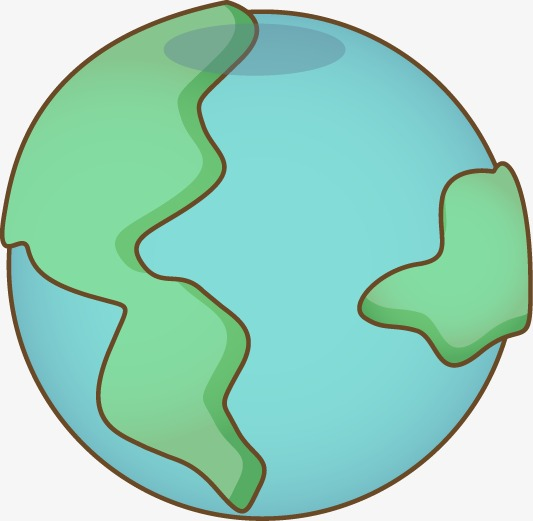 533x521 Hand Drawn Cartoon Earth, Cartoon, Hand Painted, Earth Png