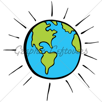 325x325 Happy Planet Earth With Thumbs Up Gesture Vector Cartoon Gl