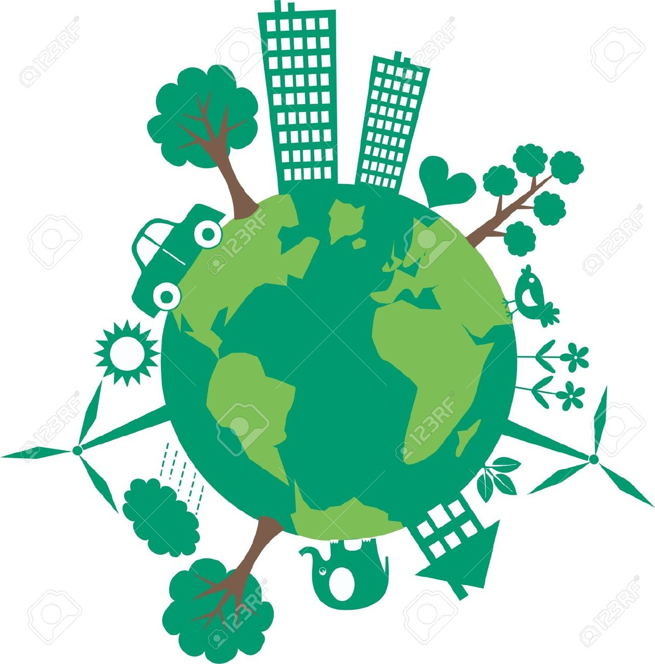 1282x1300 Planet Earth Clipart Cartoon