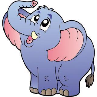 Cartoon Elephant Pictures