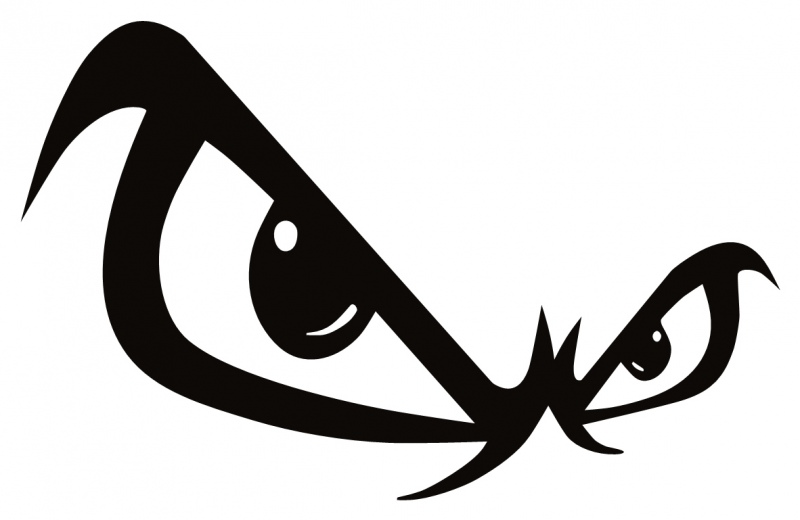 800x520 Devil Eyes Clip Art Clipart