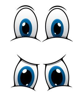 236x310 Funny Cartoon Eyes Clipart