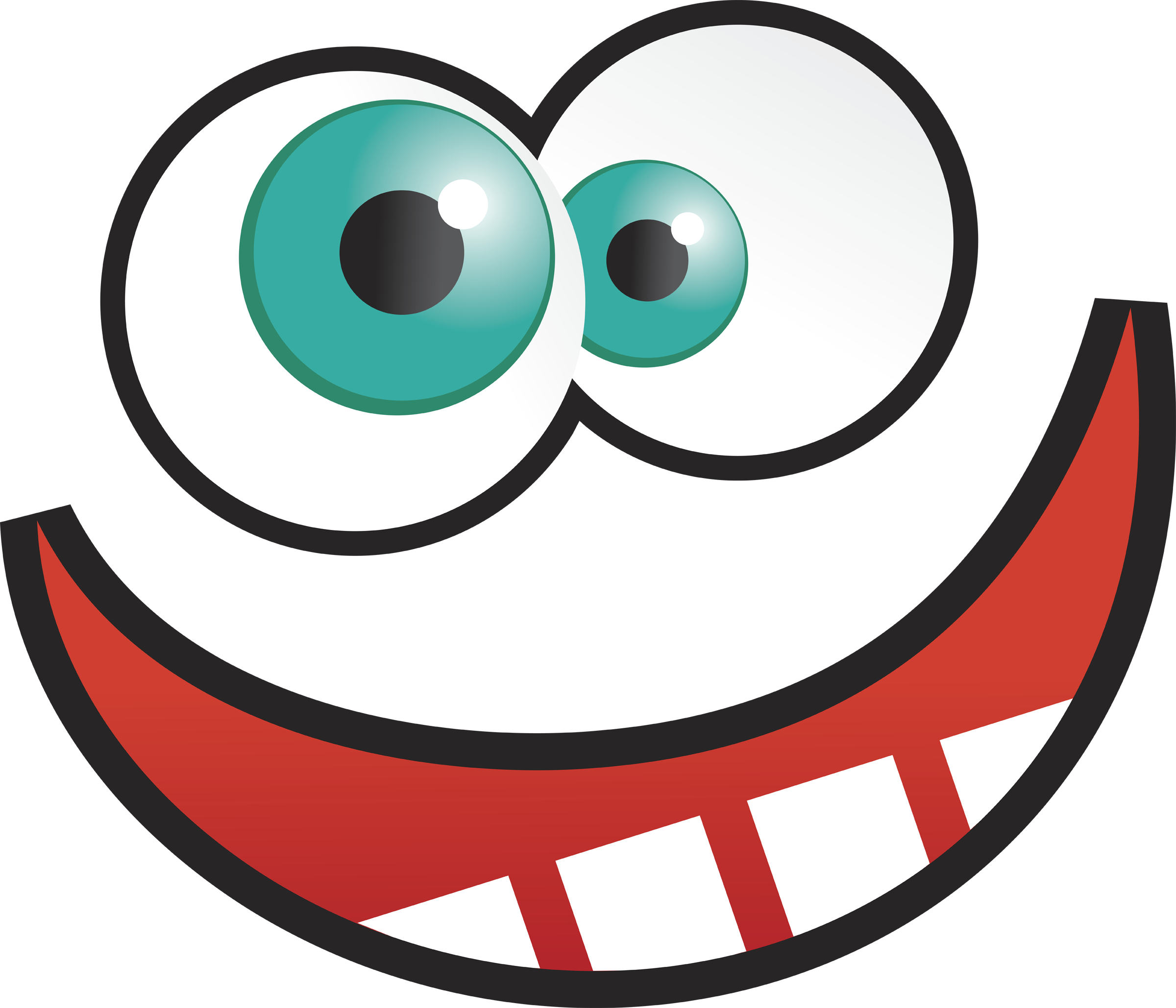2400x2058 Funny Eyes Clipart