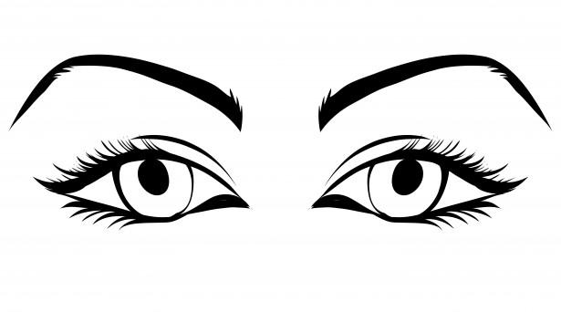 615x342 Eyeball Eyes Cartoon Eye Clip Art Free Vector In Open Office 4