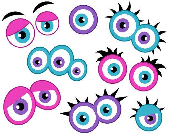 570x453 Eyes Black And White A Cartoon Eye Clipart