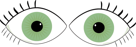 549x189 Green Eyes Clip Art Image Clipart Panda
