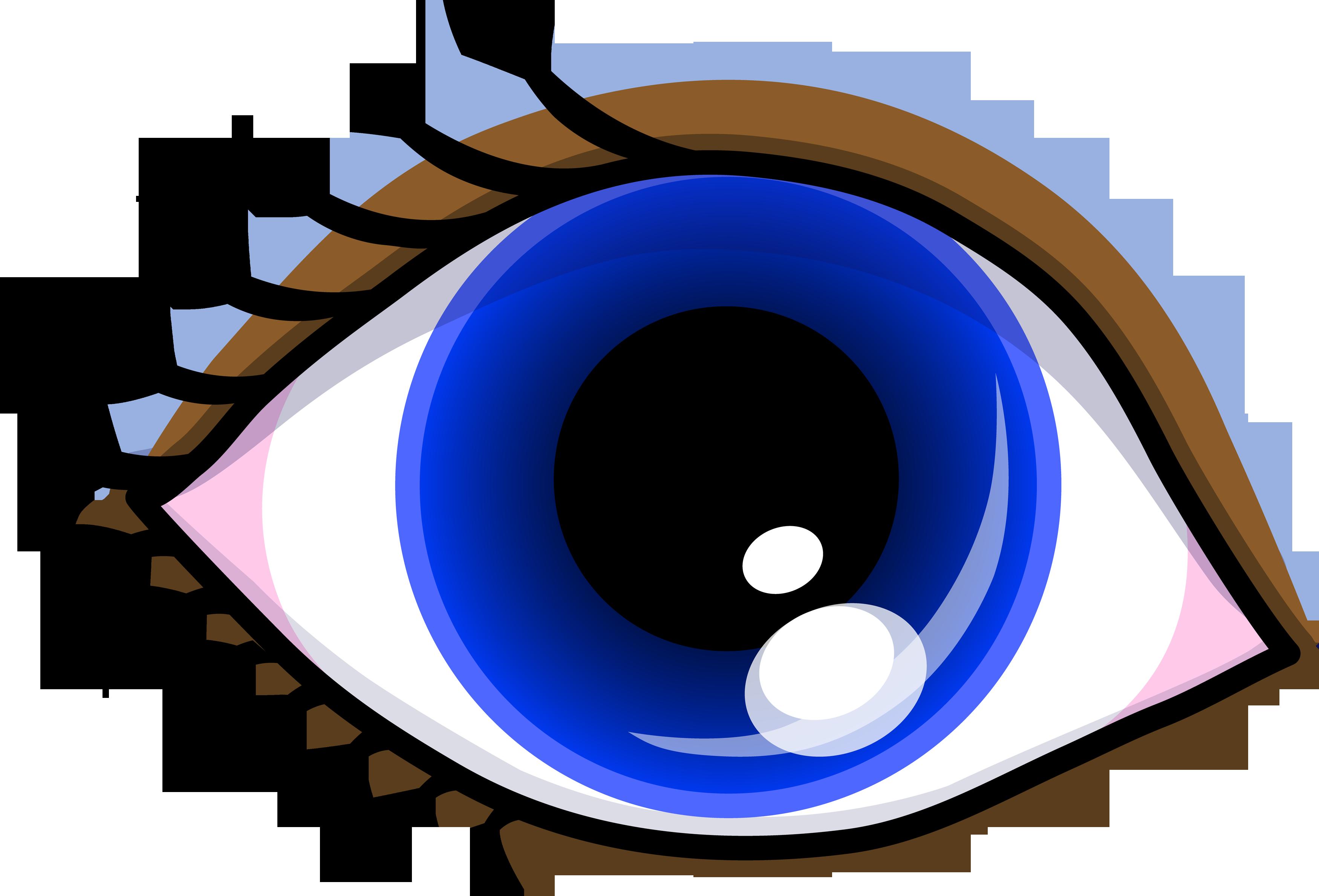 3500x2379 Pretty Blue Eye With Shadow