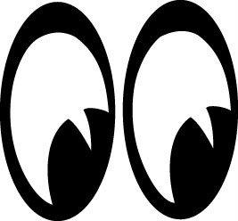 267x248 Cartoon Eye Clip Art Clipart