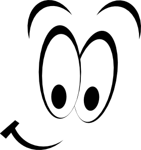 279x297 Cartoon Eye Clipart