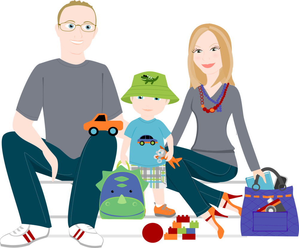 Cartoon Family Pictures